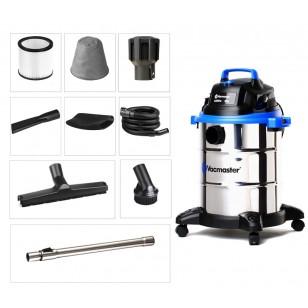 美國VacMaster 38升多功能不銹鋼桶吸水吸塵機