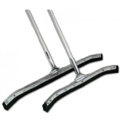 推地刮連鋁棍(彎板膠條)--24''