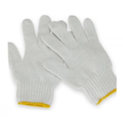 白色勞工手套