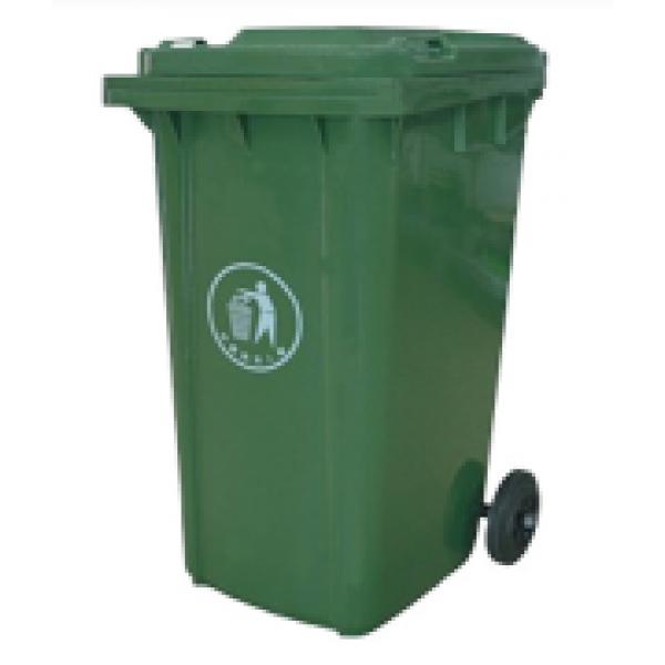 240L 加厚料戶外垃圾桶(側邊腳踏)