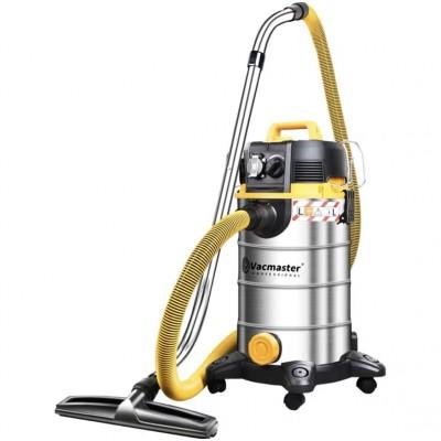 美國VacMaster 35升多功能不銹鋼桶吸水吸塵機