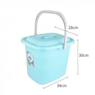 防塵儲水桶多用收納儲物米桶洗車桶