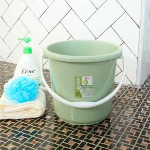 塑料圓桶洗澡洗衣桶10L