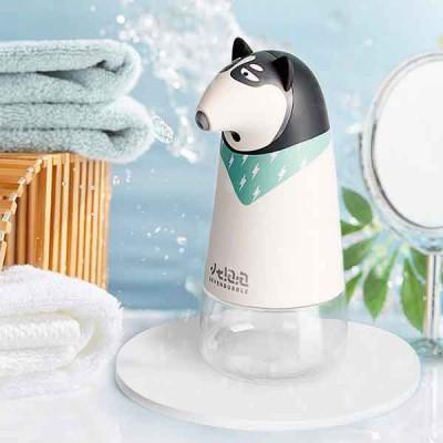 自動感應洗手液機-白小熊