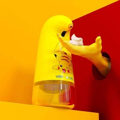 自動感應洗手液機-皮卡丘