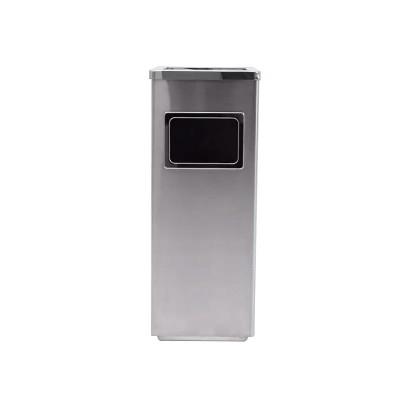 金柯不銹鋼煙灰盅垃圾桶方形酒店垃圾箱電梯口果皮箱