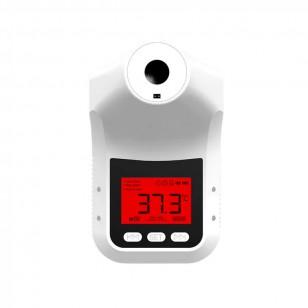 紅外感應溫度電子測溫儀非接觸式測溫槍高精度商場探熱槍帶三腳架